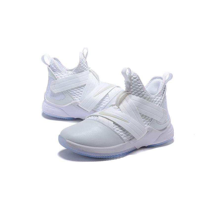 Nike LeBron Soldier 12 Triple White