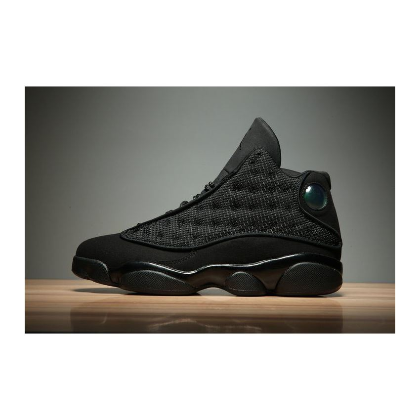 Air Jordan 13 Black Cat BlackAnthracite Black Men's and