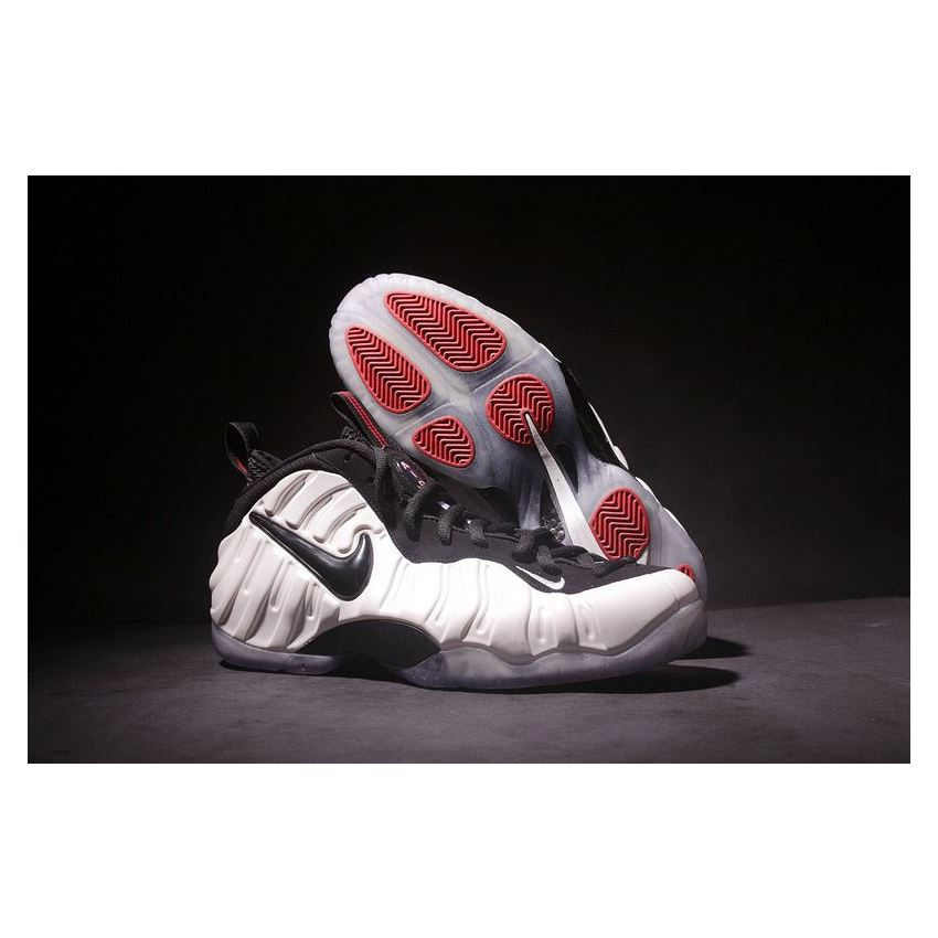 Nike Air Foamposite Pro He Got Game Pearl White/Black-True ...