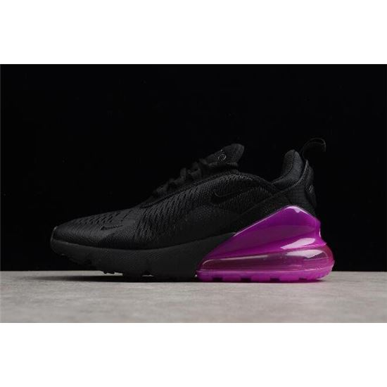 Women's Nike Air Max 270 Black Purple