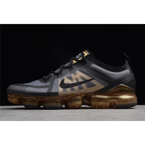 Nike Air VaporMax 2019 Black/Metallic Gold AR6631,002, Nike