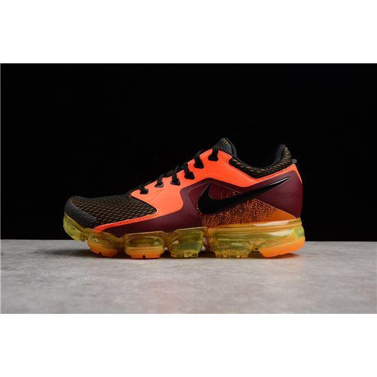 Nike Air Vapormax Total Crimson Black Men's Running Shoes