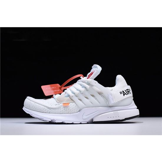 attractive price best shoes best sell 2018 Off-White x Nike Air Presto in White AA3830-100 Free ...