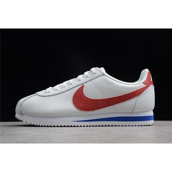 on feet images of nice cheap sale usa online Nike Classic Cortez SE Forrest Gump White/Varsity Red ...