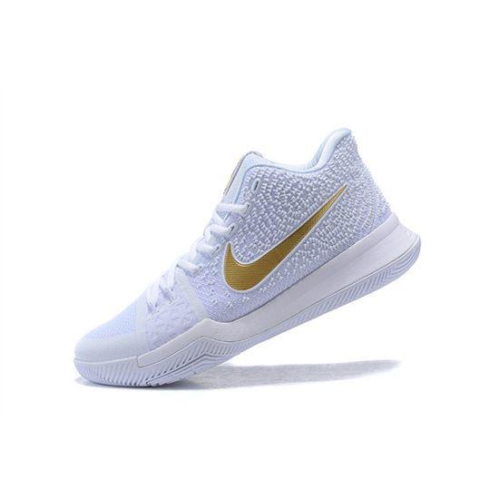 Men's Nike Kyrie 3 Christmas PE White