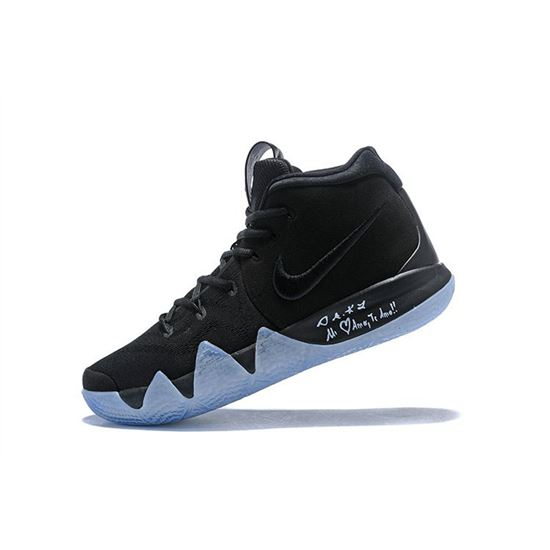 Nike Kyrie 4 Black Ice Men's Basketball Shoes For Sale, Nike