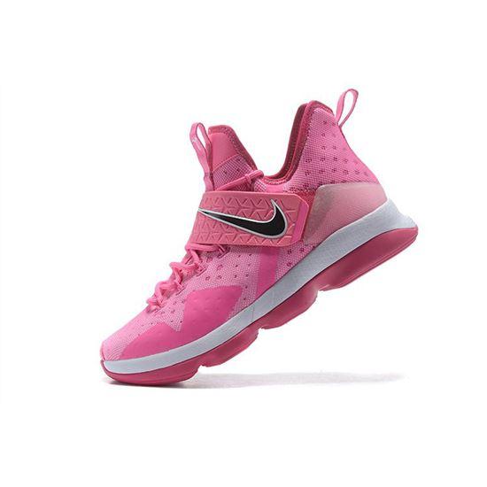 pink nike basketball shoes mens