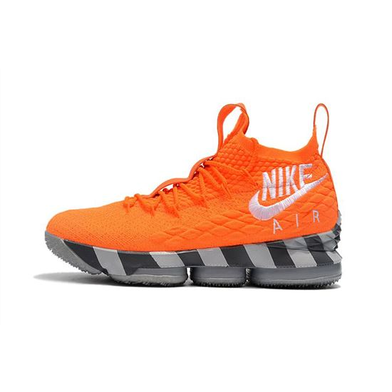 Men's Nike LeBron 15 Orange Box Total