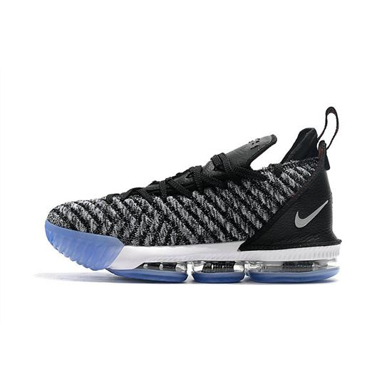 Nike LeBron 16 Oreo Black/Metallic