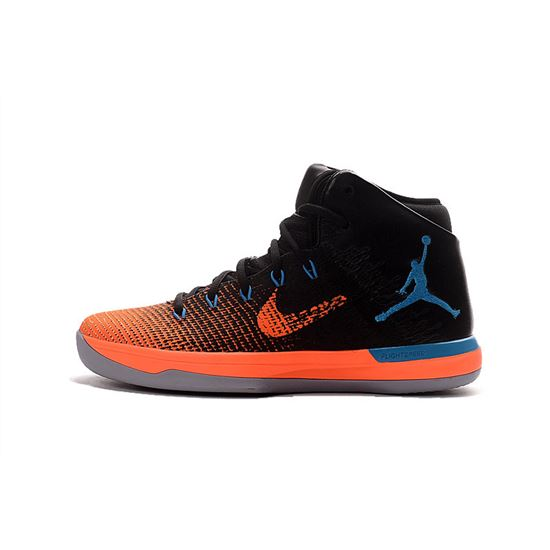 new appearance cheap sale lowest discount Air Jordan XXX1 Black/Orange-Blue-Grey, Nike Shoes 2019 ...
