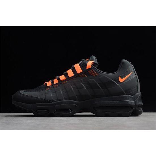 Glamour Bolos Dureza  Nike Air Max 95 Ultra SE Black/Total Orange AO9566-001, Nike Shoes 2019, Nike  Outlet