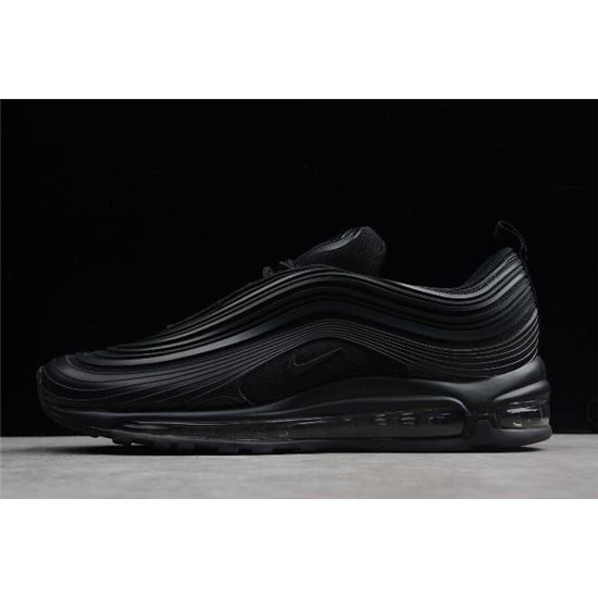 Nike Air Max 97 Ultra '17 Premium Triple Black Black