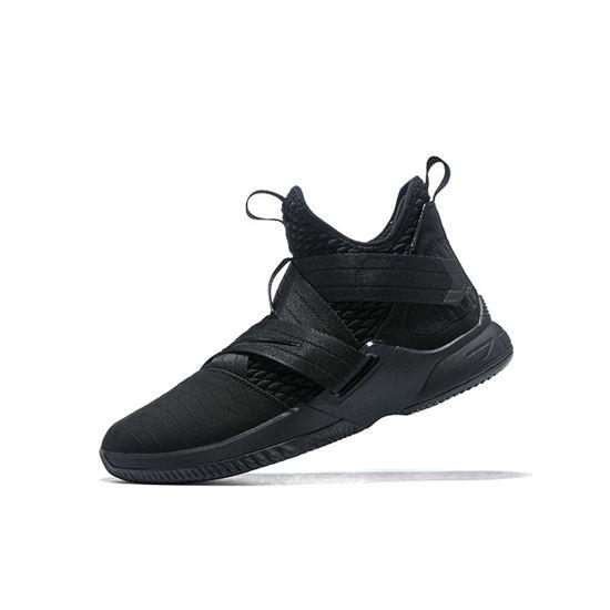Nike LeBron Soldier 12 Triple Black
